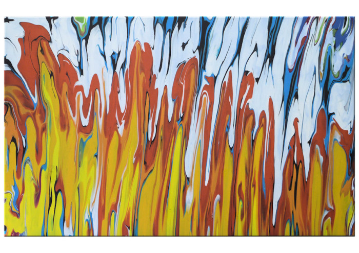Fire & Ice 36×24 Product on Hold